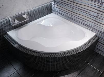 baignoire d 39 angle gentiana de ravak 140 cm ou 150 cm. Black Bedroom Furniture Sets. Home Design Ideas