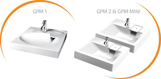 petit Lavabo GPM machine à laver