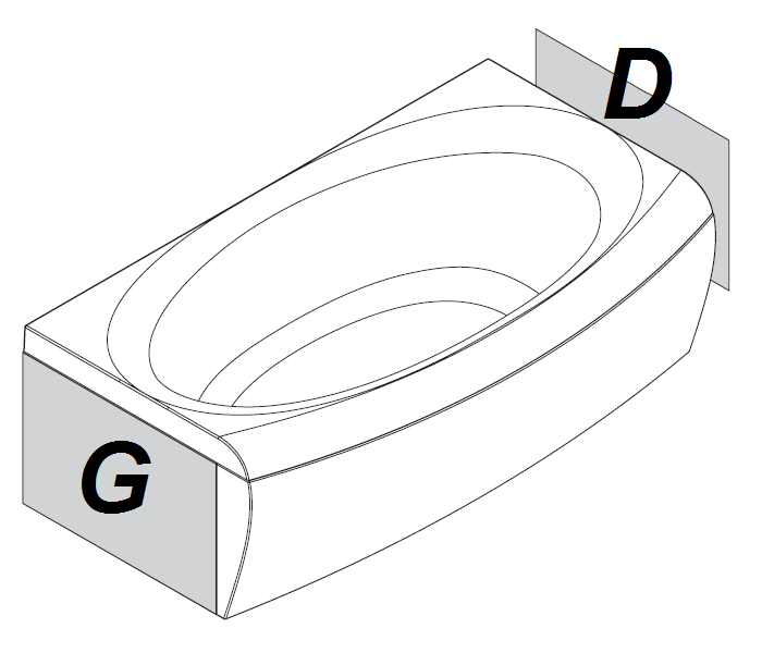tabliers latéraux pour baignoire evolution RAVAK