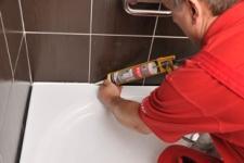 Joint silicone Ravak pour montage de bac à douche